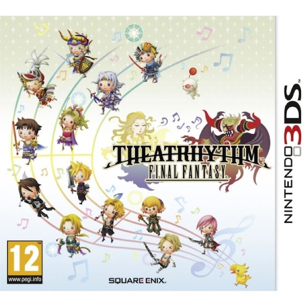 Theatrhythm Final Fantasy Game 3DS