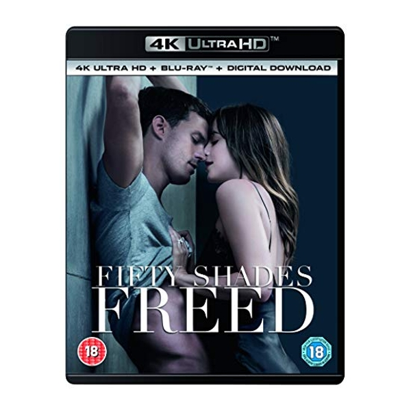 Fifty Shades Freed 4K UHD   digital download Blu-ray Region Free