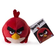 Red Angry Birds Classic Soft Toy