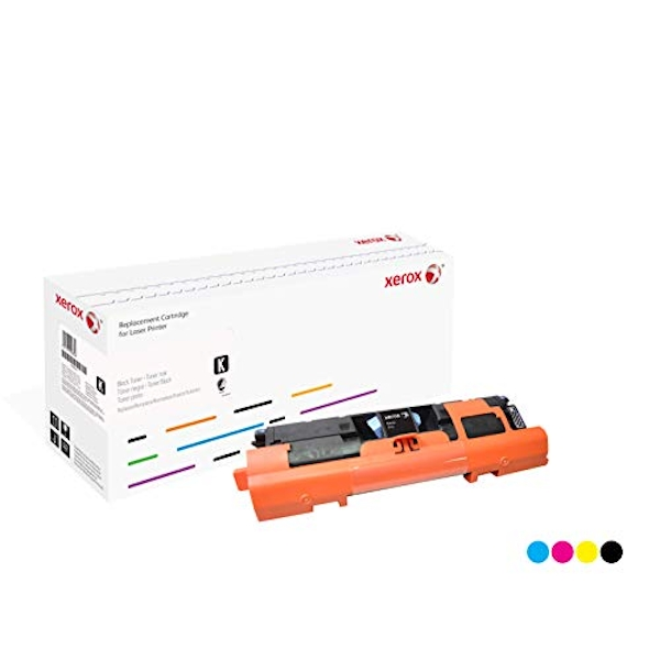 Xerox Compatible Yellow Toner Cartridge for Use in HP CLJ 2550/2820/2840 Equivalent to HP 122A/C9702A/Q3962A
