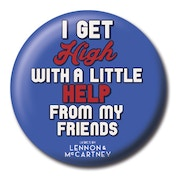 Lyrics by Lennon & McCartney - With A Little Help From My Friends Badge