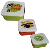 Shaun The Sheep Set of 3 Lunch Boxes