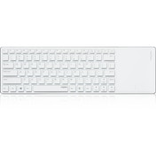 Rapoo E2800P 5GHz Wireless Ultra-slim Multimedia Keyboard White UK Layout