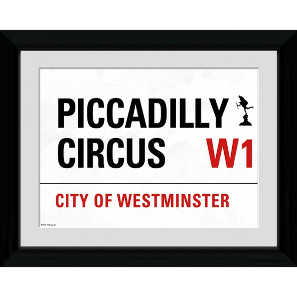 London Piccadilly Framed 16x12 Photographic Print