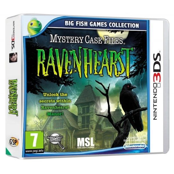 Mystery Case Files Ravenhearst Game 3DS