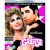Grease 40th Anniversary 4K UHD  + Blu-ray (Region Free)