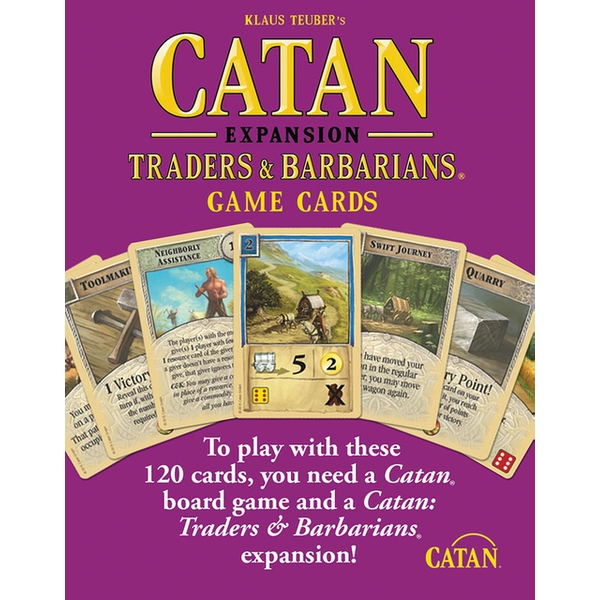 Catan Accessories Traders and Barbarians (2015 Refresh)