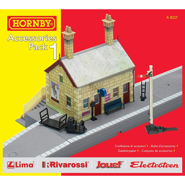Hornby TrakMat Building Accessories Pack 1