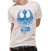 Star Wars 8 The Last Jedi - Jedi Badge Explosion Men's Medium T-Shirt - Black
