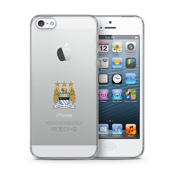Official Manchester City F.C. Merchandise TPU Clear iPhone 6 Cover