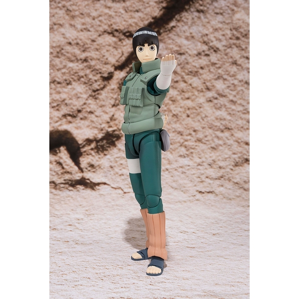 Rock Lee (Naruto) Bandai Tamashii Nations SH Figuarts Figure - Image 1