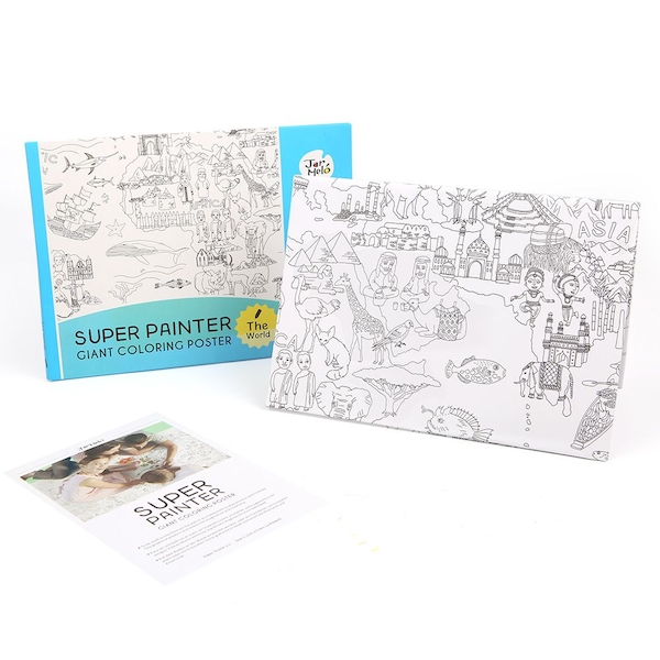 Super Painter Giant Colouring Poster Pads