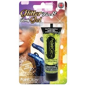 (5 Pack) PaintGlow Glitter Body Gels Blister Pack (Gold) 10ml
