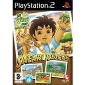 Ex-Display Go Diego Go Safari Rescue Game PS2 Used - Like New
