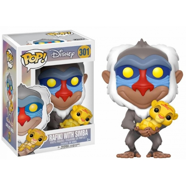 Rafiki with Simba (Disney The Lion King) Funko Pop! Vinyl Figure