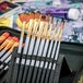 15 Piece Artists Paint Brush Set & Case | Pukkr - Image 9