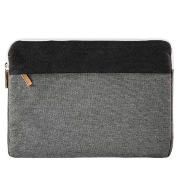 "Hama ""Florence"" Notebook Sleeve, up to 34 cm (13.3""), black/grey"
