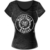 Motorhead - England Seal Women's XX-Large T-Shirt - Black