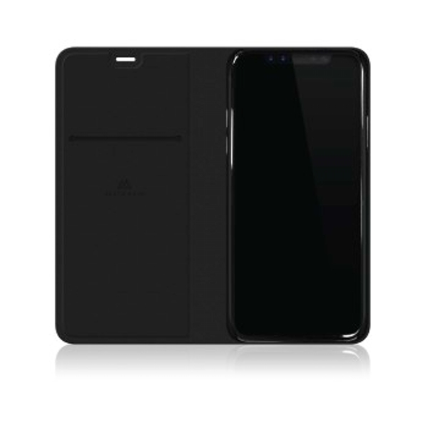 Black Rock Flex Carbon Booklet Case for iPhone X - Black