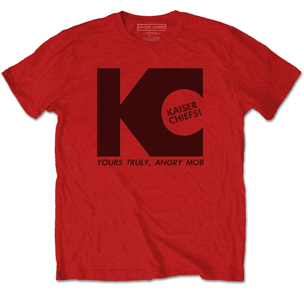 Kaiser Chiefs - Yours Truly Unisex Large T-Shirt - Red