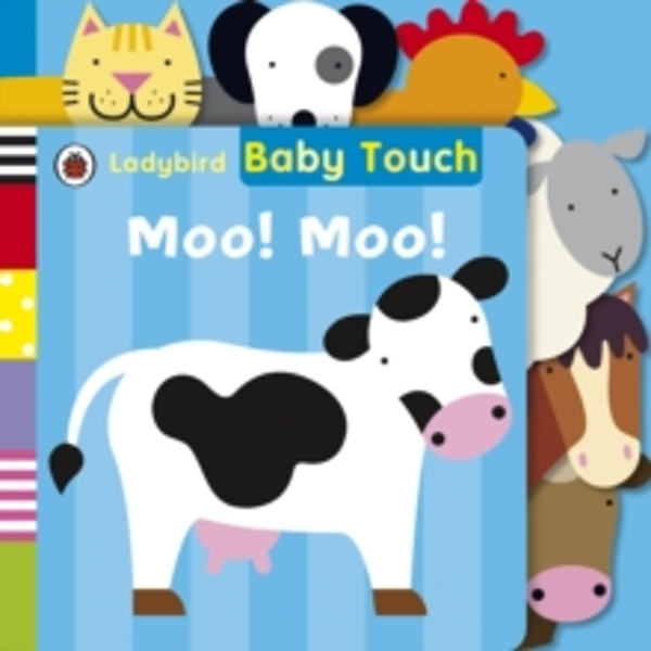 Baby Touch: Moo! Moo! Tab Book