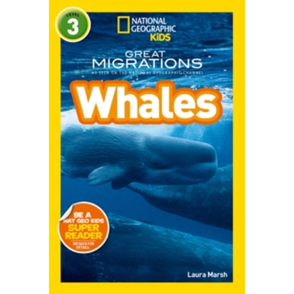 National Geographic Kids Readers: Whales (National Geographic Kids Readers: Level 3 ) by National Geographic Kids (Paperback, 2014)