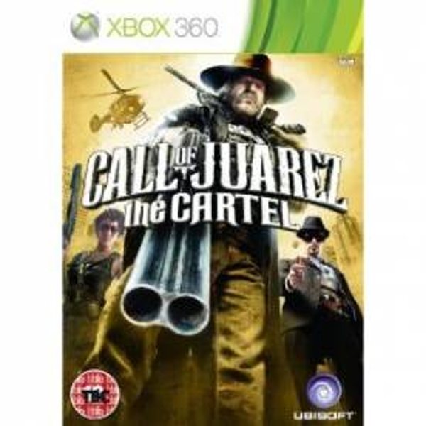 Call of Juarez The Cartel Game Xbox 360