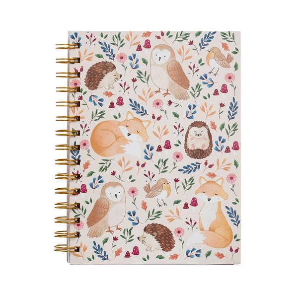 Sass & Belle Forest Folk A5 Notebook