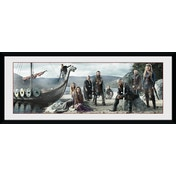Vikings Beach Framed Collector Print