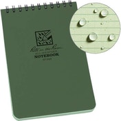 Rite In The Rain Universal Notebook, Top Spiral Bound 4 x 6 Inch - Green