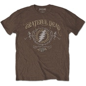 Grateful Dead - Bolt Men's Small T-Shirt - Brown