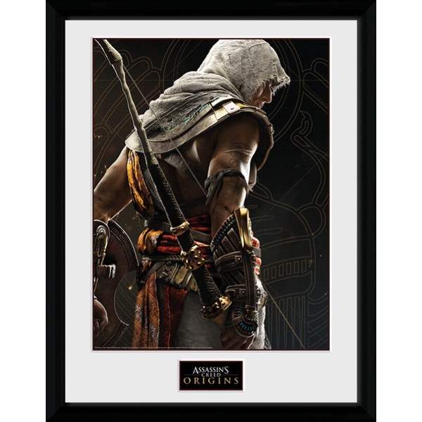 Assassins Creed Origins Synchronization Framed Collector Print - Image 1