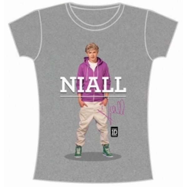One Direction Niall Standing Pose Skinny Grey TS: XL