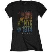 Blondie - Made in NYC Women's XX-Large T-Shirt - Black