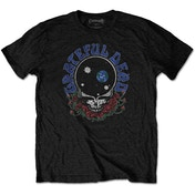 Grateful Dead - Space Your Face & Logo Men's Small T-Shirt - Black
