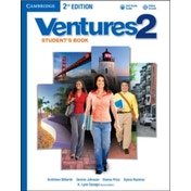 Ventures Level 2 Student's Book with Audio CD by Dennis Johnson, Sylvia Ramirez, K. Lynn Savage, Gretchen Bitterlin, Donna Price (Mixed media product, 2013)