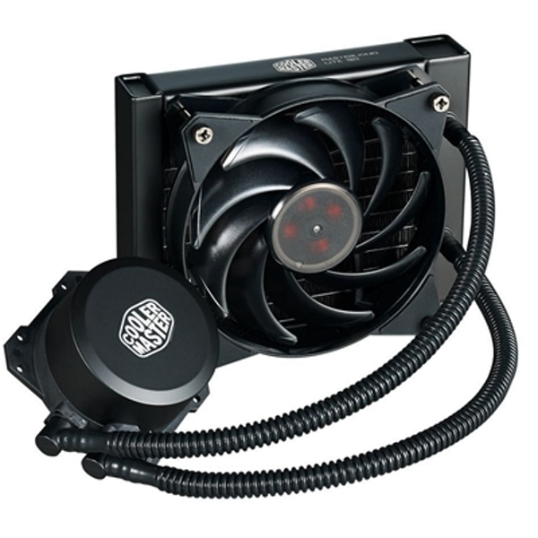 Cooler Master MasterLiquid Lite 120 Universal Socket 120mm PWM 2000RPM Black AiO Liquid CPU Cooler