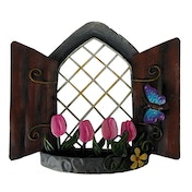 Tulip View Fairy Ornament