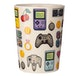 Gaming Joystick Shaped Handle Mug with Pixel Decal - Image 2