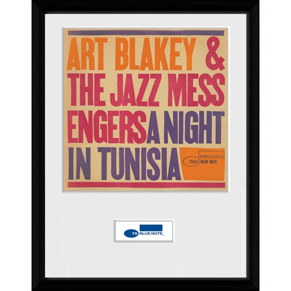 Blue Note Tunisia (30 x 40cm) Collector Print