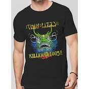 Thin Lizzy - Killer Men's Small T-shirt - Black