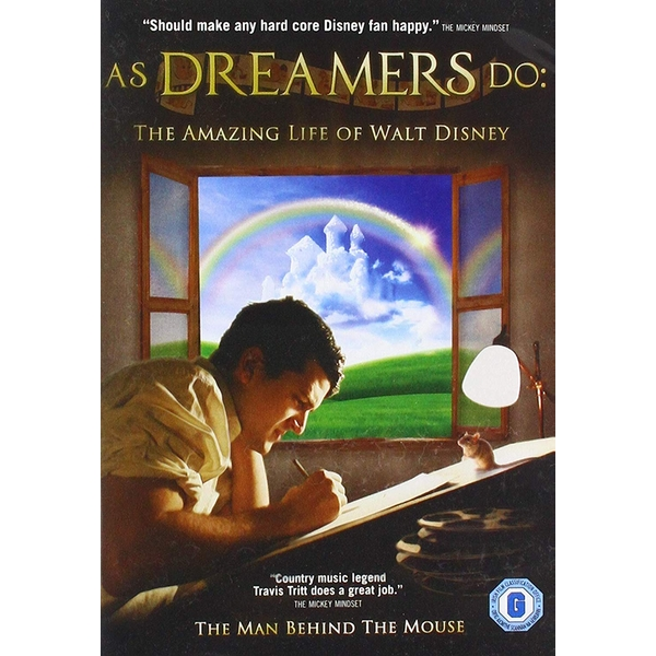 Walt Disney Story: As Dreamers Do DVD