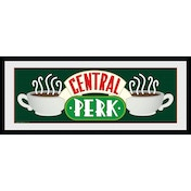 Friends Central Perk Framed Collector Print