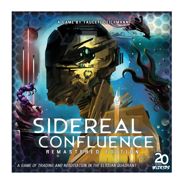 Sidereal Confluence Board Game Remastered Edition *English Version*