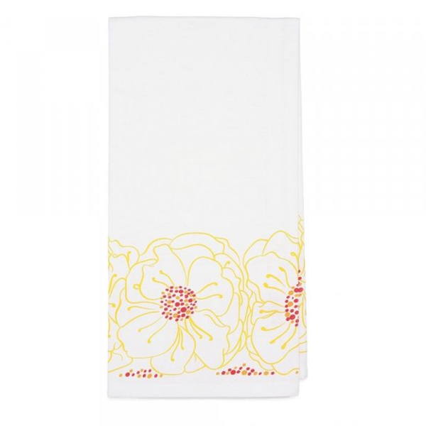 Marigolds Tea Towel