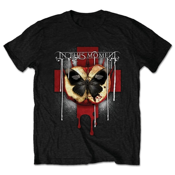 In This Moment - Rotten Apple Unisex Large T-Shirt - Black