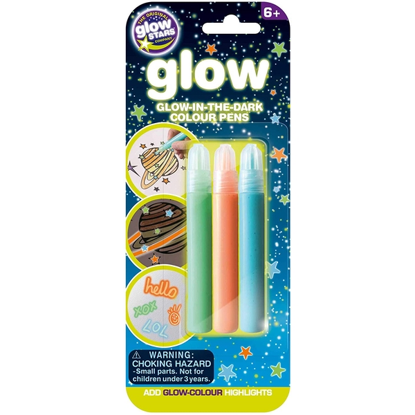 Glow Stars - Glow-in-the-Dark Colour Pens