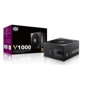 Cooler Master V1000 1000W 135mm Silencio FP Fan 80 PLUS Gold Fully Modular PSU
