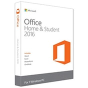 Microsoft Office 2016 Home & Student 32/ 64-Bit English Medialess PKC Software