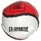 Hurling Club and County Sliotar Ball  Junior  Red/White